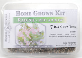 Home Grown Kit Radish Red Arrow